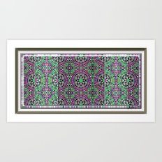 Bandanna Print Art Print