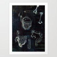 Organs Art Print