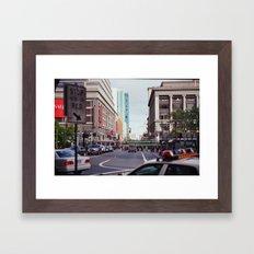 Streetview Framed Art Print