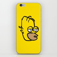 Hard Night Homer iPhone & iPod Skin