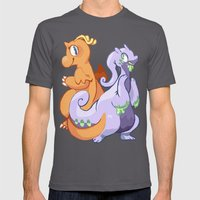 Dragons Mens Fitted Tee Asphalt SMALL