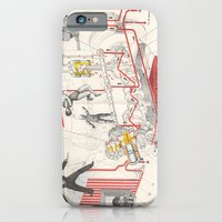 iPhone & iPod Case featuring Chart Of Lubrication Points Of D-103 Engine by Raul Gil
