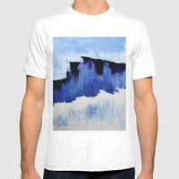Cold Blue Mens Fitted Tee White SMALL