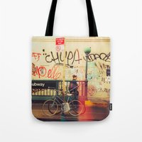 The Formerly Mean Streets of Williamsburg Tote Bag