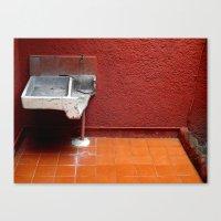 Chilango Sink Canvas Print