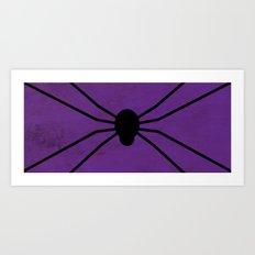 Halloween Spider Art Print
