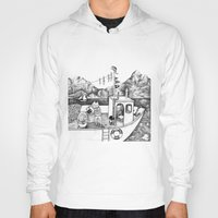 Fox on Fishing-boat Hoody