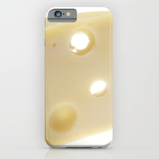 Swiss Cheese iPhone & iPod Case