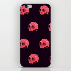 Pink Skull Pattern iPhone & iPod Skin