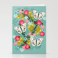 Buckeye Butterly Florals… Stationery Cards