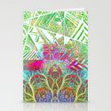 Abstract 1 Stationery Cards