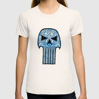 Celtic Punisher Womens Fitted Tee Natural SMALL