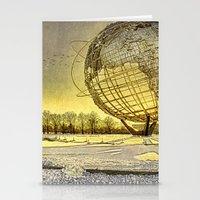 Unisphere Sunset Stationery Cards