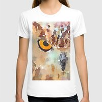 owl T-shirts featuring Owl by contemporary