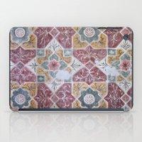 Geometric Wall Pattern iPad Case