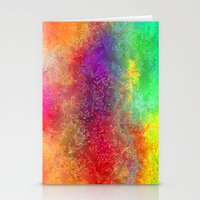 Aa 2 Colourful Digital A… Stationery Cards