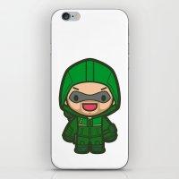 Green Archer iPhone & iPod Skin