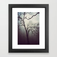 Silent Anticipation Framed Art Print