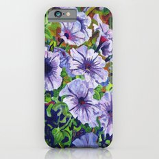 Purple Petunias  iPhone 6 Slim Case