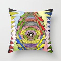 The Singular Vision Throw Pillow