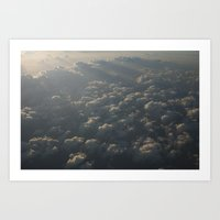 Above The Clouds No.5 Art Print