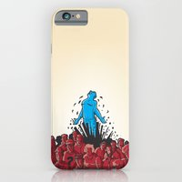 iPhone & iPod Case featuring Wake Up by Lee Grace Illustration
