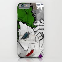 iPhone & iPod Case featuring David Bowie as The Joker by Ed Pires
