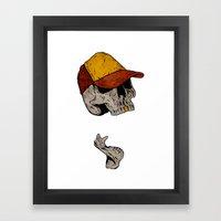 Truckin' Framed Art Print
