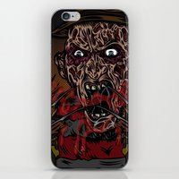 Keep Dreamin' Krueger iPhone & iPod Skin