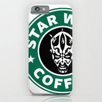 Star Wars Coffee (Darth Maul) iPhone 6 Slim Case