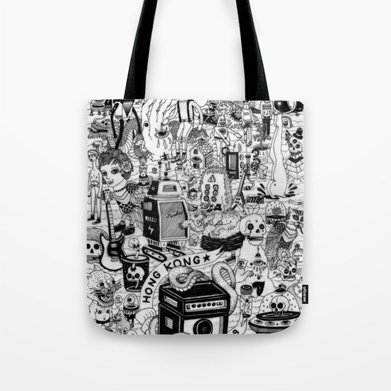 HONG KONG CLUB Tote Bag