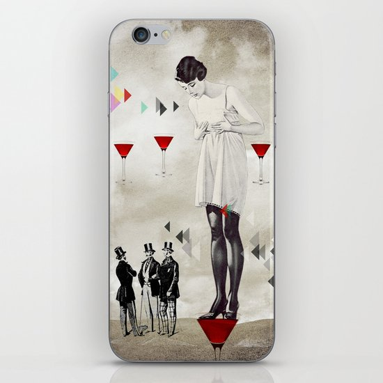 Women thoughts iPhone & iPod Skin