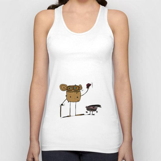- thinking about family - Unisex Tank Top