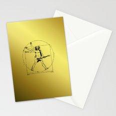 leonardo guitar Stationery Cards