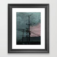 costa rica 5 Framed Art Print