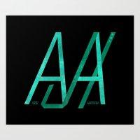 JX Art Print
