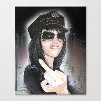 NYPD Rebel Canvas Print
