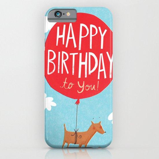 Birthday Balloon iPhone & iPod Case