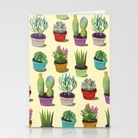 Cactus Collection Stationery Cards