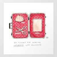 Don't Leave Home Without… Art Print
