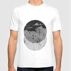 GEOMETRY 3 Mens Fitted Tee White SMALL