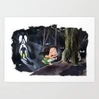 Snow White & The Huntsma… Art Print