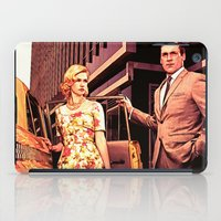 Betty & Don Draper from Mad Men - Painting Style iPad Case