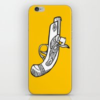 One shot Derringer, one shot gettin ya iPhone & iPod Skin