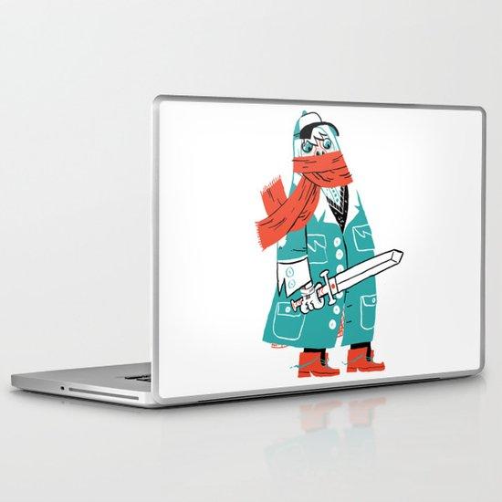 Creepy Scarf Guy Laptop & iPad Skin