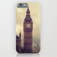 london iPhone & iPod Cases featuring London by The Last Sparrow