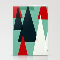 Abstract Forest By Frizt… Stationery Cards