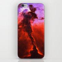 Red Nebula iPhone & iPod Skin