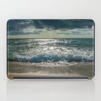 Just Me And The Sea iPad Case