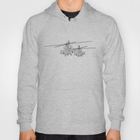 Apache's Flying Toon Ren… Hoody